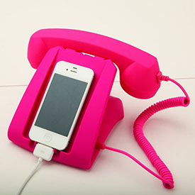 Retro Phone Handset & Dock