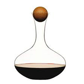 Wine Carafe (2 litre) with Oak Stopper